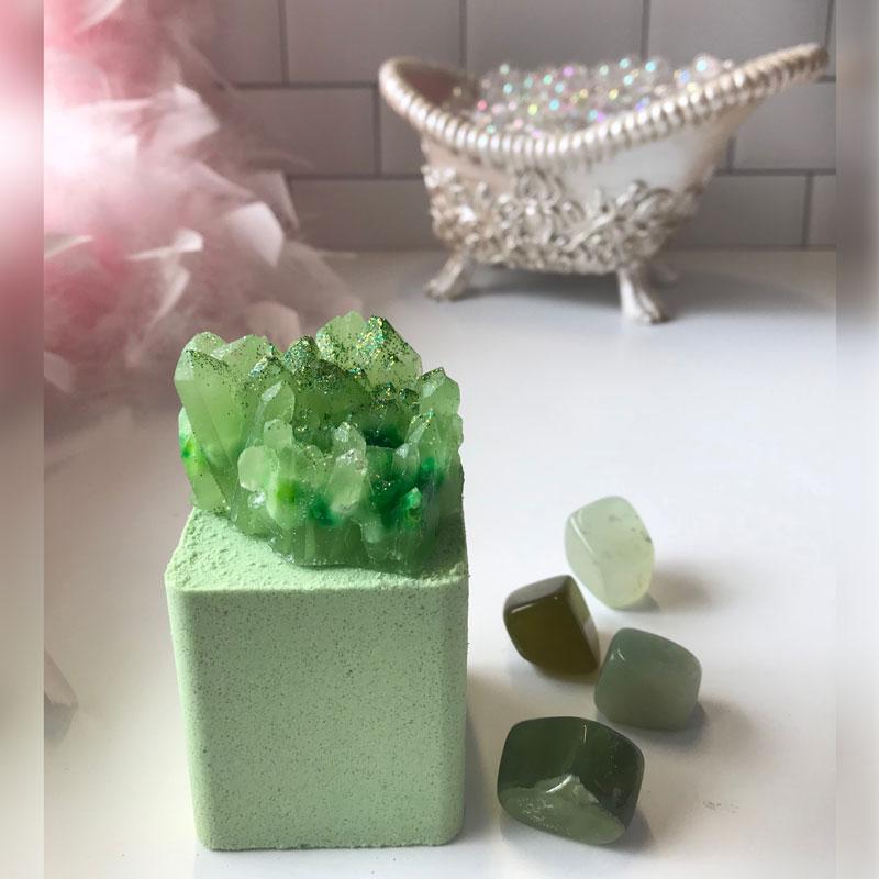 jade bath bomb