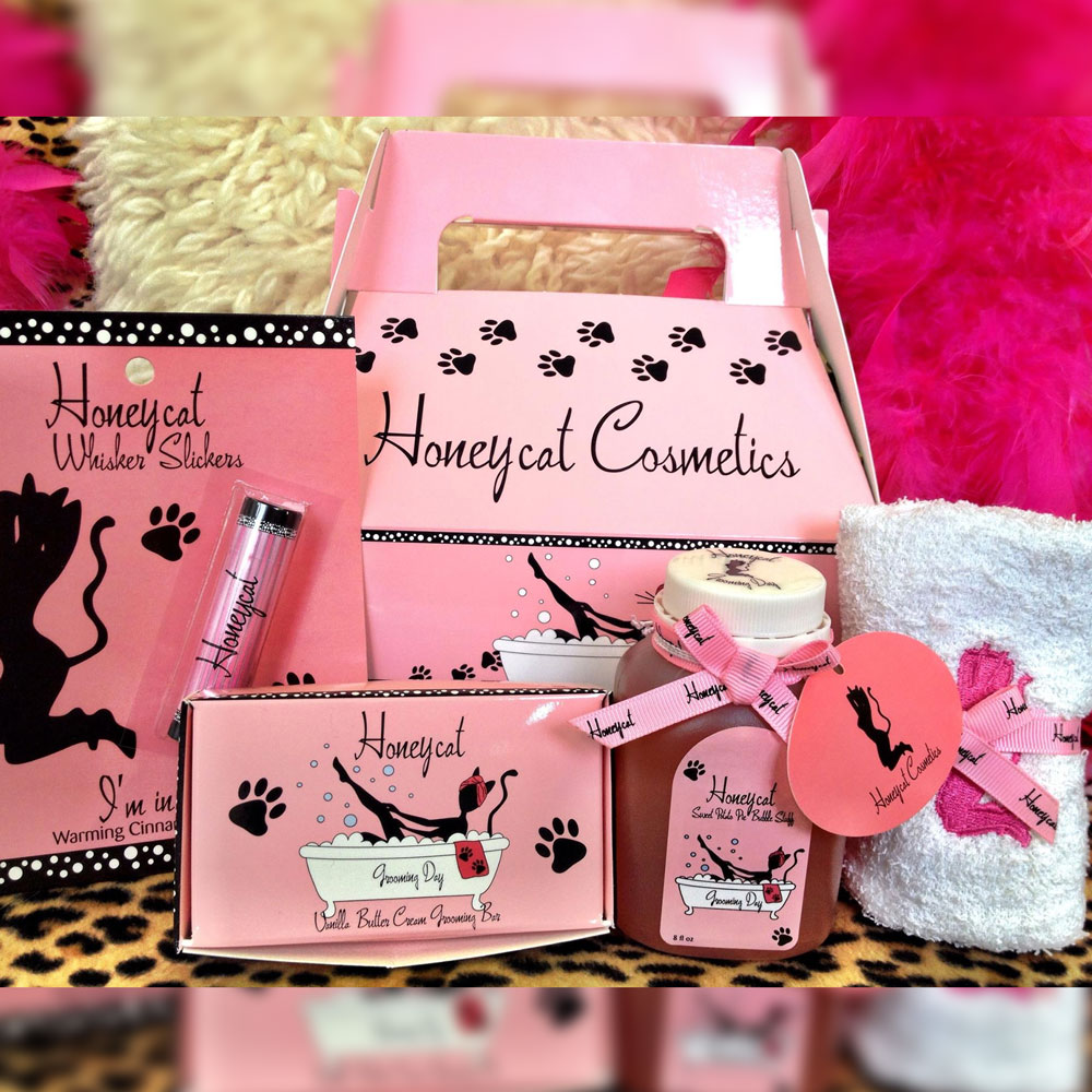 Kitty Carrier Sample Pack   Honeycat Cosmetics
